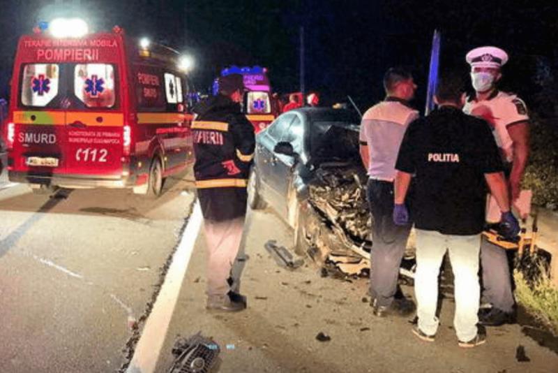 Urmărire în trafic terminată cu un accident cumplit
