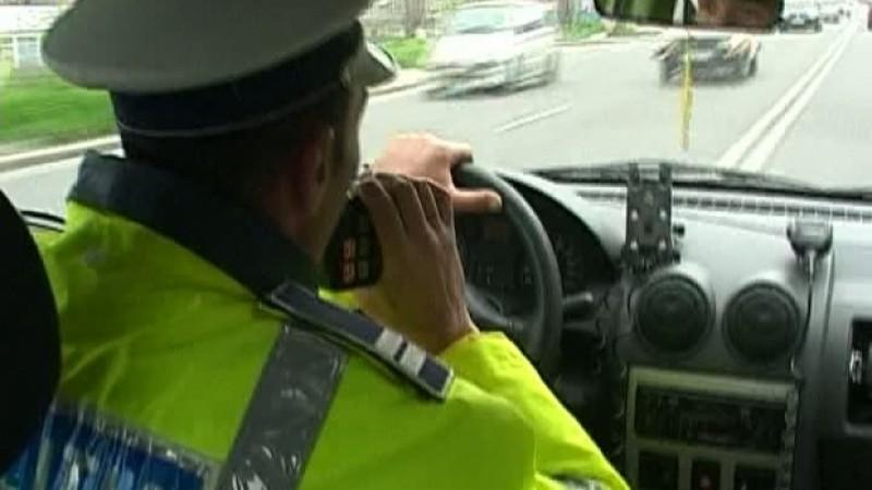 Urmărire pe străzile Iașului: Botoșănean blocat în trafic de polițiști!