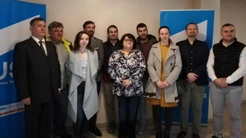 USR a desemnat candidatul pentru Consiliul Județean Botoșani și lista de reprezenanți în cadrul deliberativului