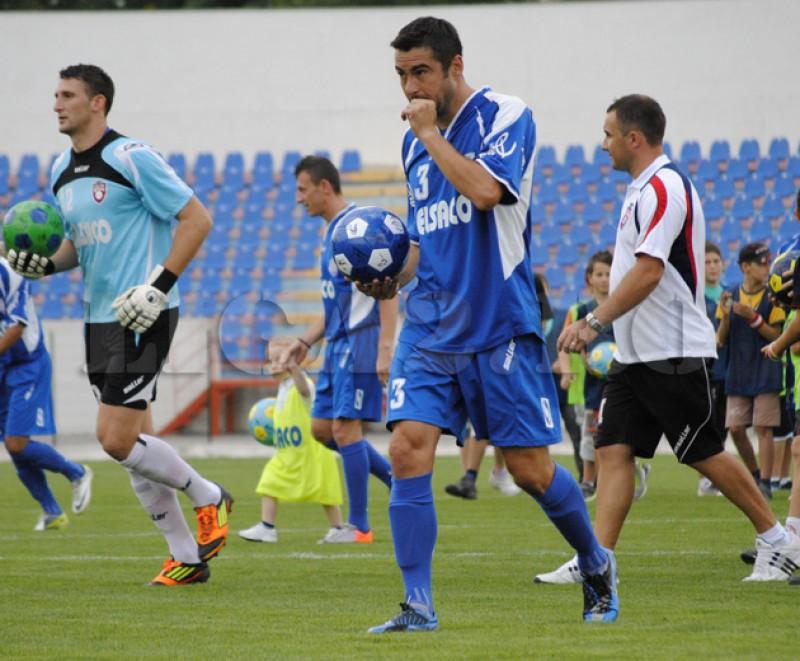 Valeriu Bordeanu, pasa decisiva de gol in meciul cu FC Brasov, la 37 de ani