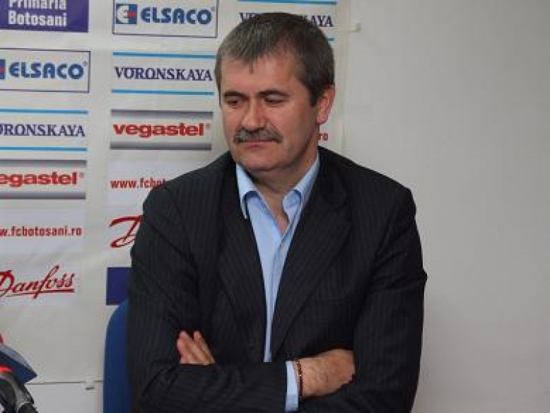 Valeriu Iftime, preşedintele CA FC Botoşani