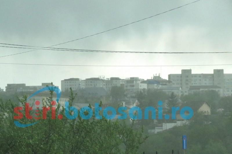 Avertizare Cod Galben de vânt puternic în județul Botoșani!