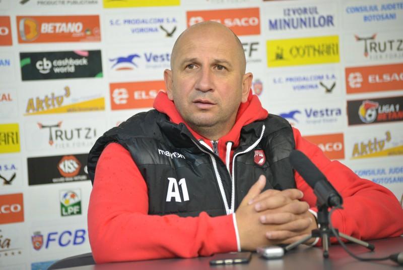 """Vasile Miriuță: """"E greu să joci la Botoşani. Ăsta e adevărul!"""""""