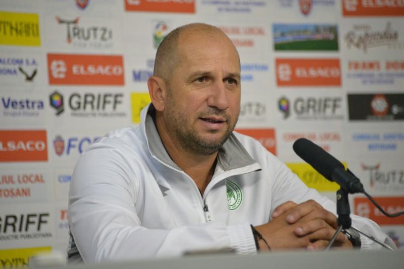 "Vasile Miriuta: ""Am avut 11 m clar in minutul 87, dar suntem o echipa prea mica"""