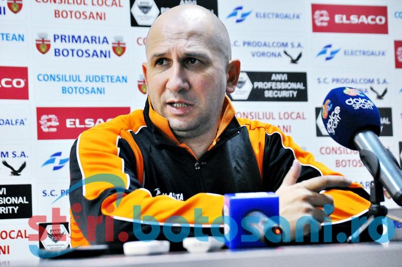 "Vasile Miriuta: ""Am avut un meci greu. Nu pot sa spun ca a fost o victorie meritata"""