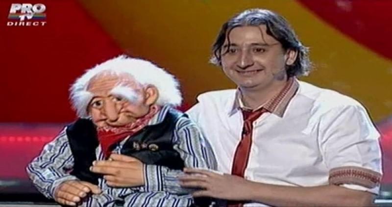 """Ventrilocul Eduard Sandu a intrat în finala """"Românii au talent"""" VIDEO"""