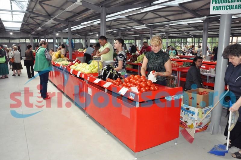 Veste bună pentru comercianți. Piețele agroalimentare din Botoșani vor funcționa în continuare
