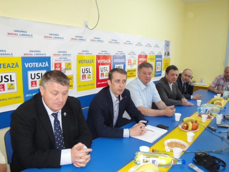VEZI cum şi-au împărţit PSD şi PNL colegiile pentru parlamentari, la Botoşani