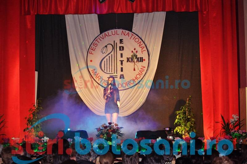 "VEZI LISTA cu concurentii calificati in faza finala de la Festivalul ""Martisor Dorohoian 2016"""