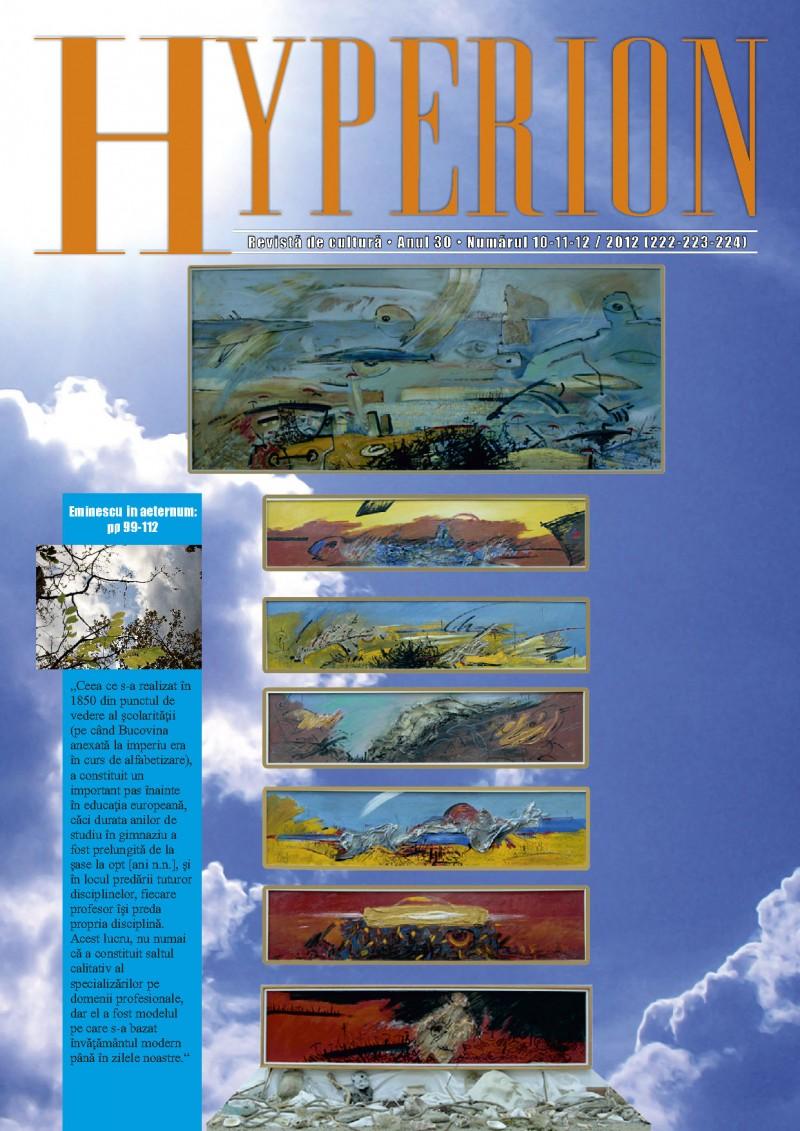 Vezi noul numar al revistei HYPERION!