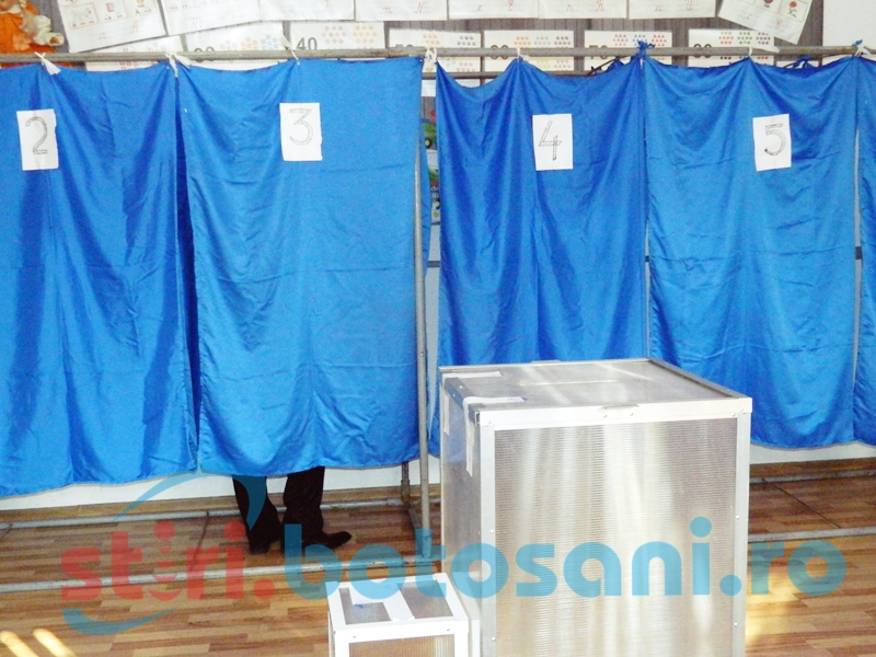 Vezi rezultatele obtinute de candidatii la prezidentiale, in fiecare localitate din judetul Botosani! DOCUMENT
