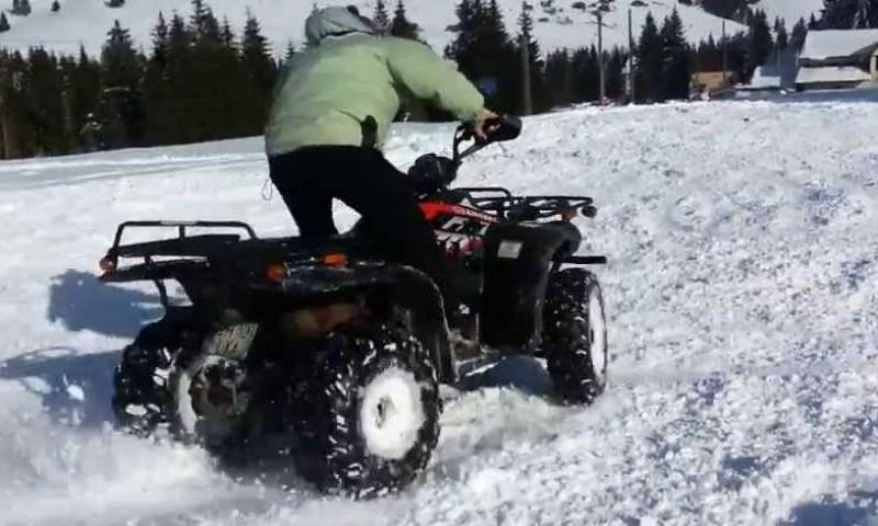 Viața la 18 ani: Beat, prins circulând cu un ATV neînmatriculat!