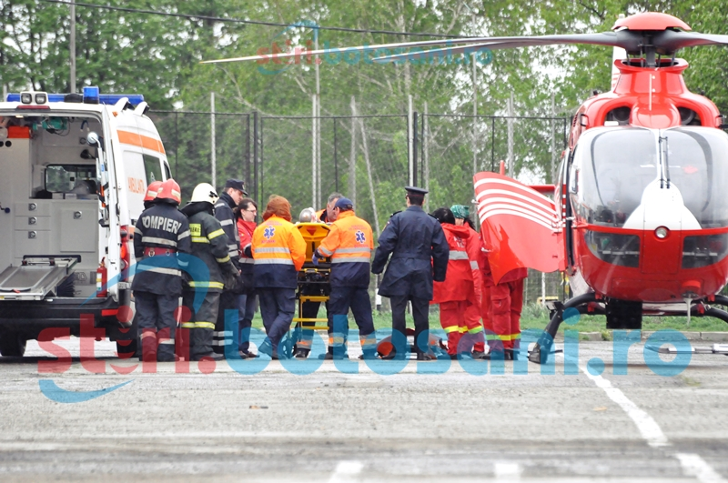 Viaţa pacienţilor botoşăneni, pusă în pericol de lipsa unui heliport amenajat!
