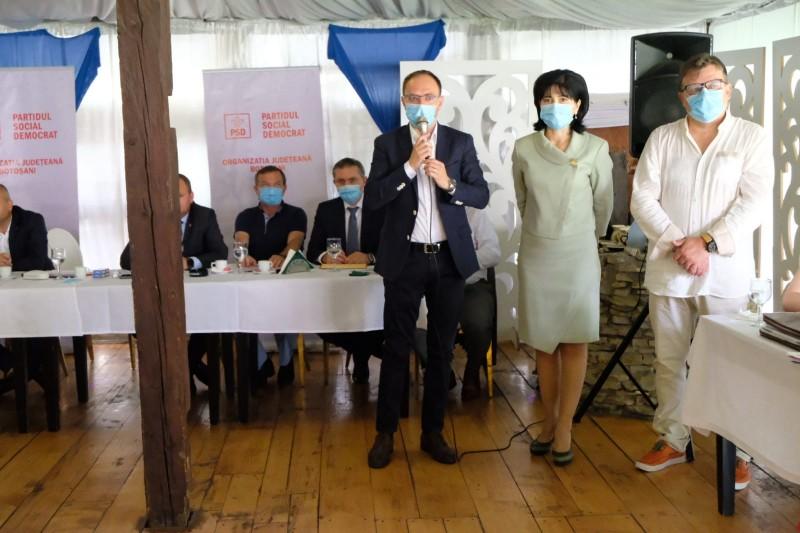 Viceprimarul Cosmin Andrei, validat candidat pentru funcția de primar al municipiului Botoșani