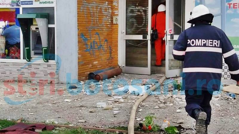 Victima exploziei de vineri de pe strada Primăverii, în stare gravă!