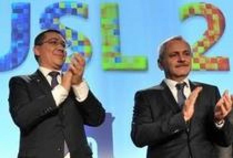 Victor Ponta, demisie in alb din PSD