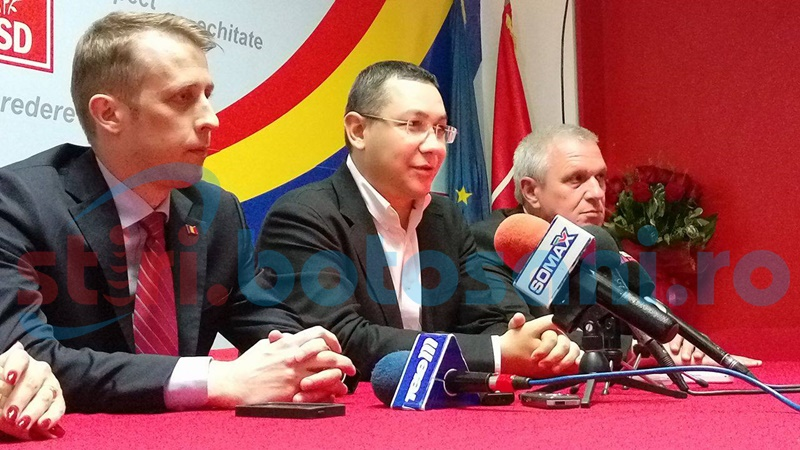 """Victor Ponta: """"Flutur va pierde glorios, la Botoșani"""""""