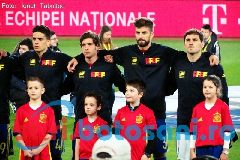 Victorie chinuită pentru Spania în meciul cu Cehia!