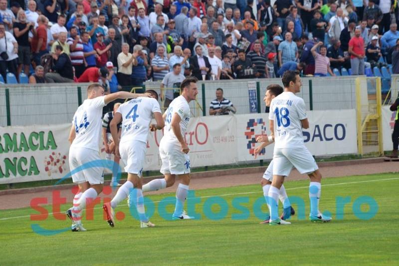 Victorie fara emotii pentru FC Botosani! Elevii lui Enache sunt pe locul 2