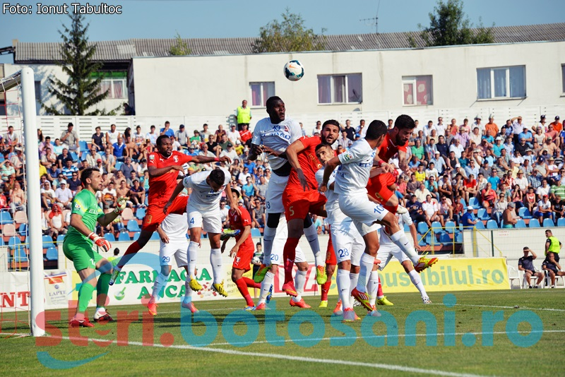 Victorie pentru Astra în meciul cu FC Botoşani! Gafa Lazar si cartonas rosu pentru Acsinte!