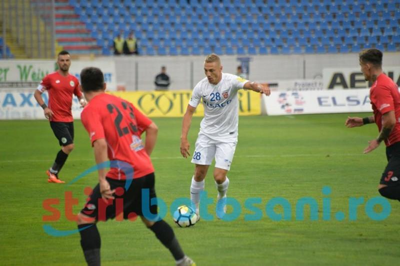 Victorie pentru FC Botosani, intr-un meci cu multe probleme de arbitraj! FOTO