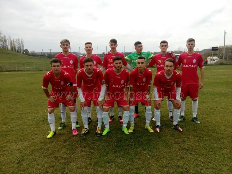 Victorii pe linie pentru juniorii de la FC Botosani! CLASAMENT