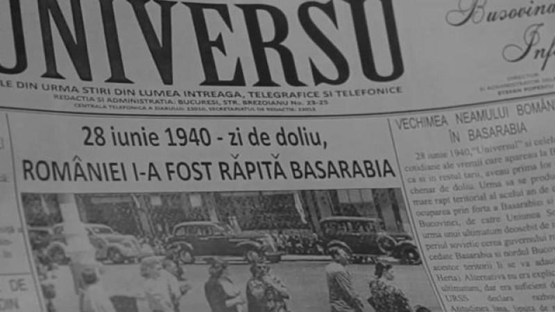 VIDEO - 28 iunie 1940: 79 de ani de la anexarea Basarabiei și Bucovinei la Rusia Sovietică
