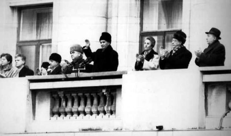 VIDEO: Biroul în care s-a ținut ultimul discurs a lui Ceaușescu, deschis publicului