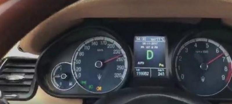 VIDEO - Ca la Formula 1. Un șofer s-a filmat în timp ce gonea prin România cu 270 de km/h