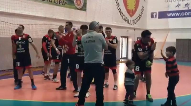VIDEO: CSM Botoșani a sărbătorit alături de galerie victoria cu CSU Galați