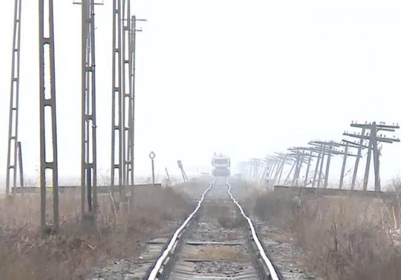 VIDEO - Cum arată calea ferată de pe tronsonul Iaşi - Dorohoi