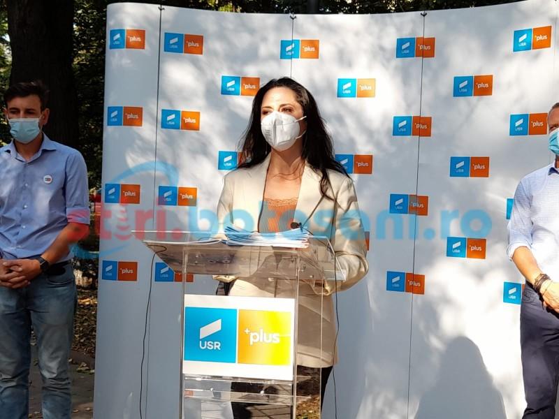 VIDEO: Europarlamentarul Ramona Strugariu a venit la Botoșani cu mesaje de mobilizare la vot și la accesarea fondurilor europene