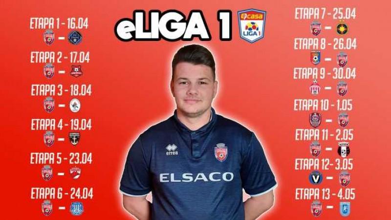 """Video: FC Botoșani a învins FCSB în a șaptea etapă a """"eLiga1"""""""