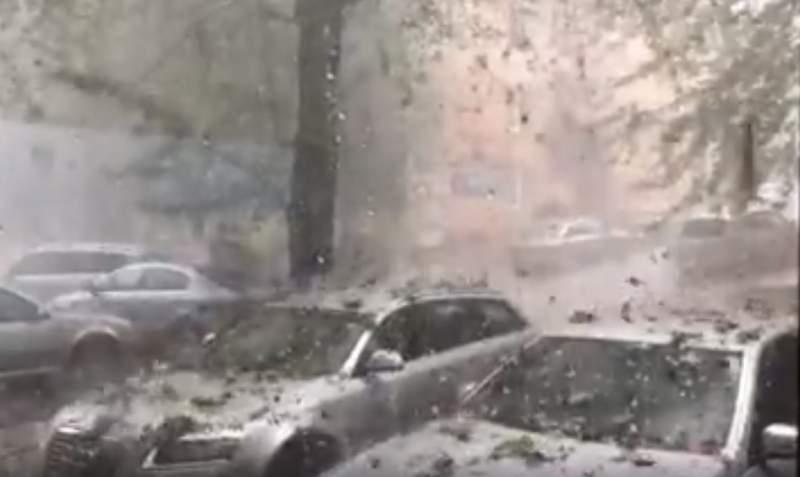 VIDEO - Imagini de coșmar: A fost Cod Roșu de vreme rea în România!