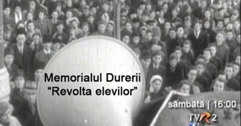 """VIDEO - ISTORIA NECESARĂ: Memorialul Durerii prezintă episodul """"Revolta elevilor"""""""