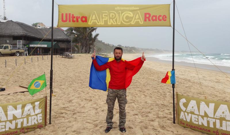 """VIDEO: Iulian Rotariu a câștigat """"Ultra Africa Race"""" Mozambic: """"Am reușit să ridicăm steagul țării sus, unde îi este locul"""""""