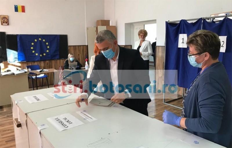 VIDEO – Liviu Toma: Am votat astăzi pentru a schimba modul de administrare de la nivelul municipiului Botoșani