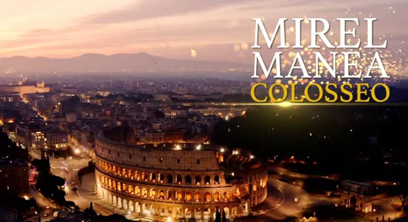 Video: Mirel Manea uimește din nou. Colosseumul din Roma a răsunat în acordurile trompetistului de la Botoșani