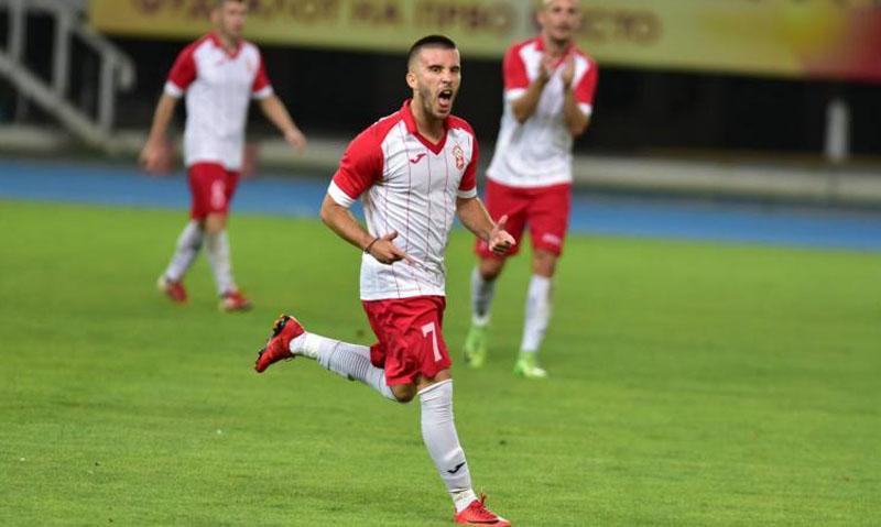 VIDEO   Noul star de la FC Botoșani a marcat un gol superb, în campionatul Macedoniei!