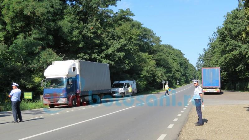 VIDEO: Poliția Rutieră din Botoșani a demarat acțiunea Truck&Bus