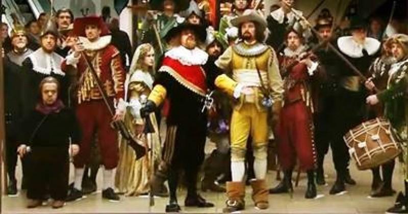 VIDEO SPECTACULOS! Cum promovează olandezii o pictură de Rembrandt!