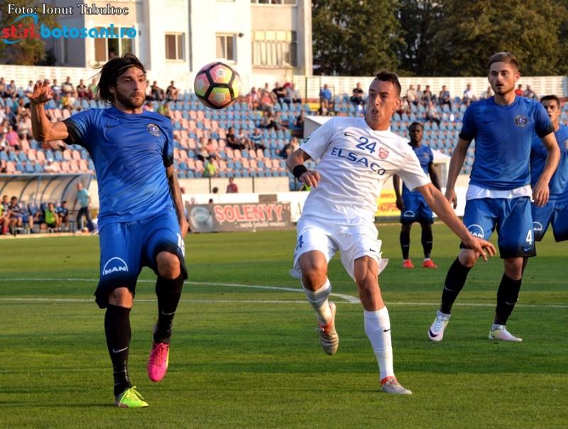 Viitorul si FC Botosani joaca ultimul meci al anului, din Liga 1