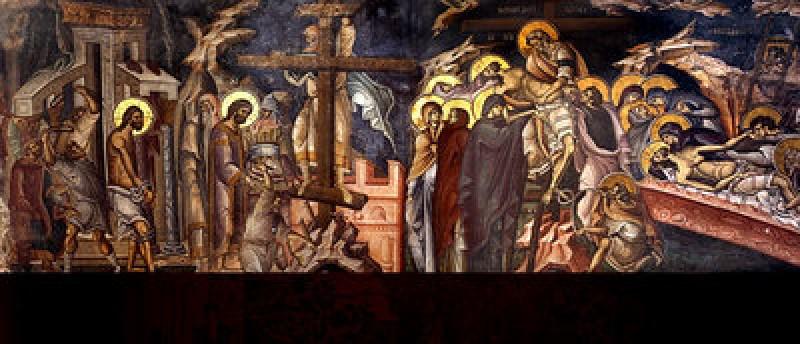 Vinerea Mare - moartea si ingroparea Domnului (Zi aliturgica. Denia Prohodului Domnului) - VIDEO