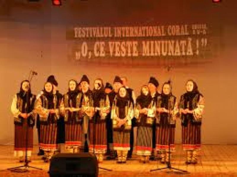 """VINERI: Festivalul-concurs coral """"O, ce veste minunată"""""""