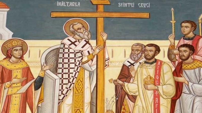 Sărbătoarea Înalțării Sfintei Cruci, zi de post aspru - VIDEO