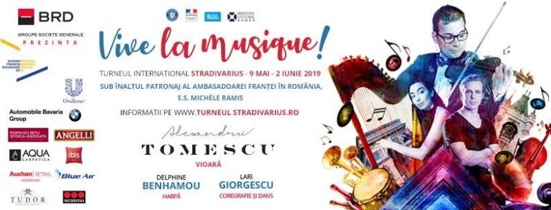 Vioara Stradivarius ajunge din nou la Mihăileni!
