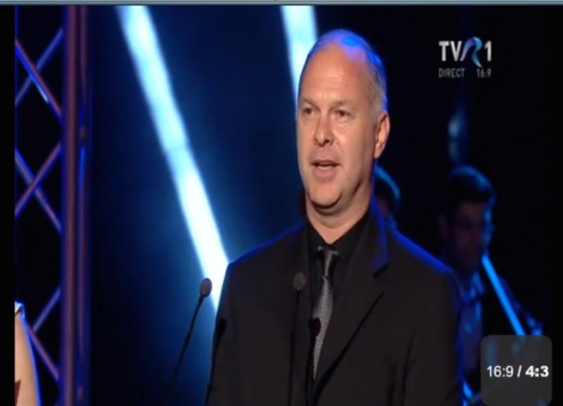 Vlad Ivanov, premiul pentru cel mai bun actor în rol principal, pe scena UNITER!