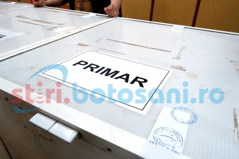 Alegeri pentru primar, la Vlăsineşti: Peste 2.000 de persoane aşteptate, astăzi, la vot