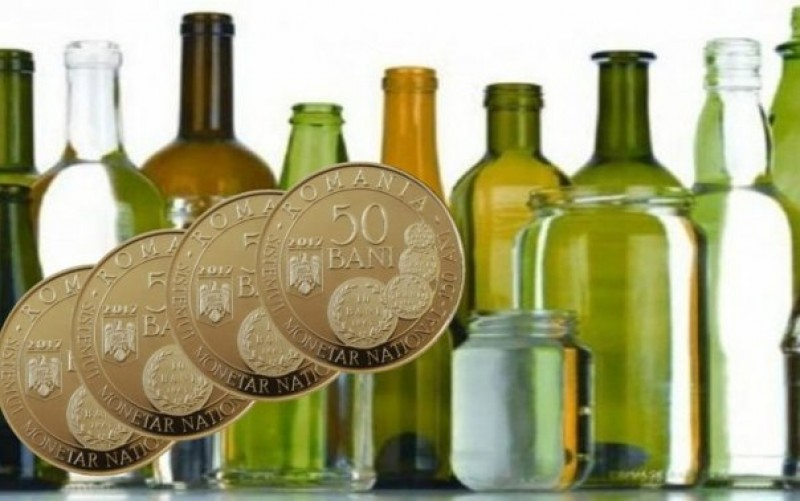 Vom plati 50 de bani pentru garantia pe sticla, de luna viitoare