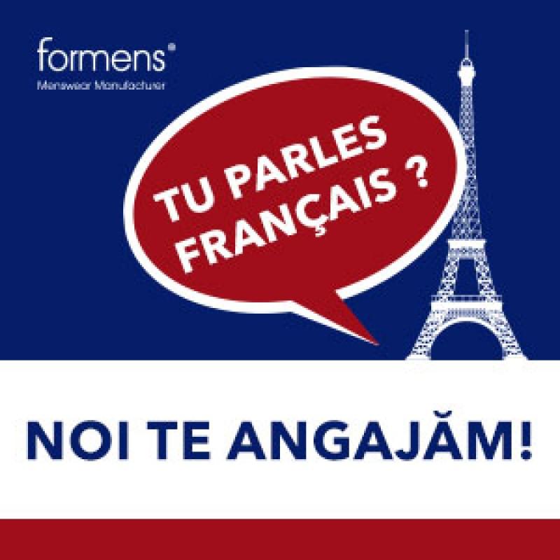Vorbești Franceza? Noi te angajăm!